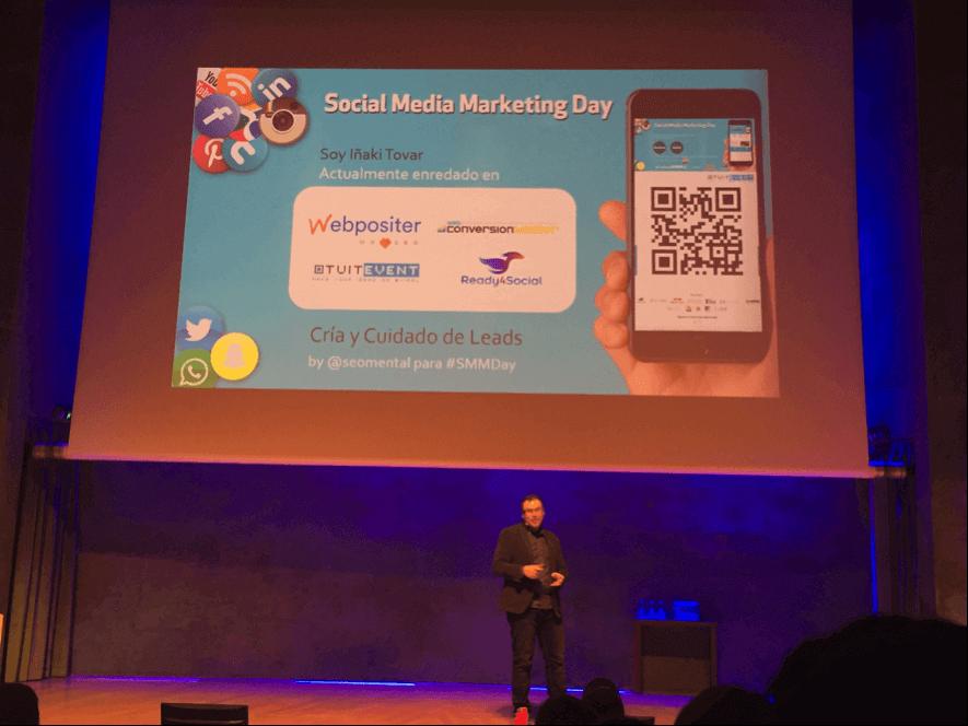 Iñaki Tovar Social Media Marketing Day