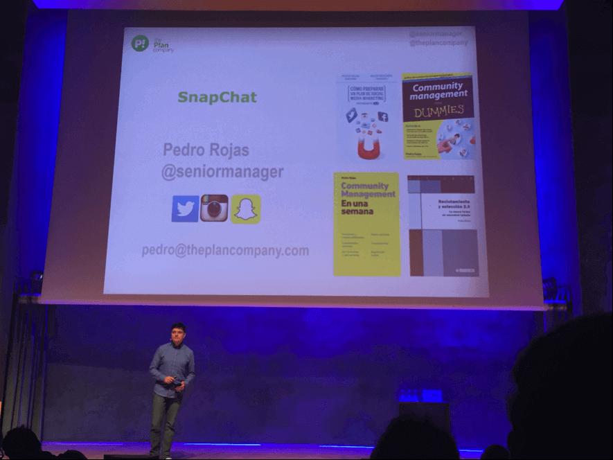 Pedro Rojas - Social Media Marketing Day