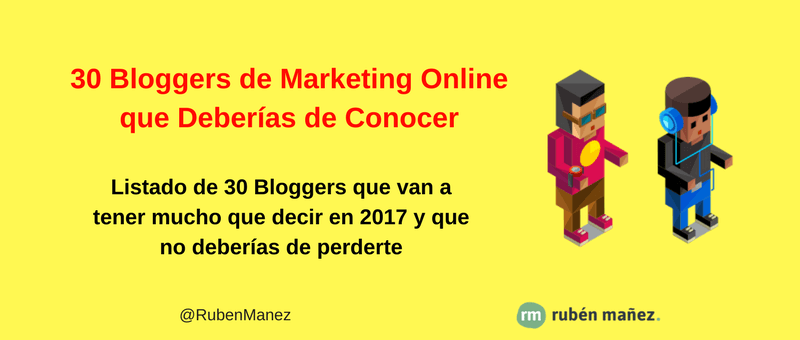 bloggers marketing digital español