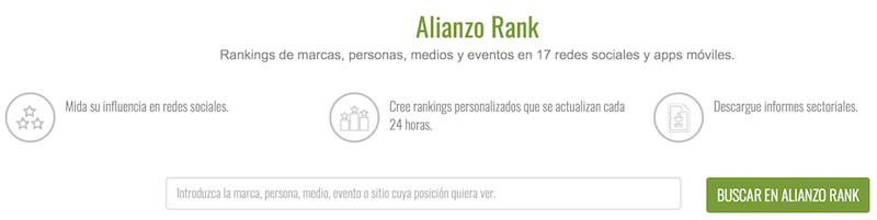Alianza Herramienta Buscar Influencers en Redes Sociales