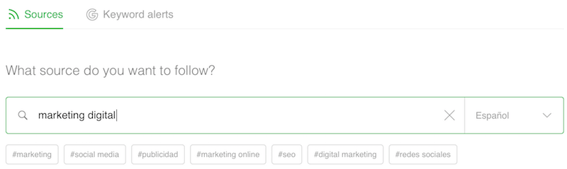 Feedly herramienta encontrar influencers bloggers