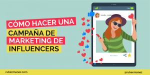 campaña marketing de influencers