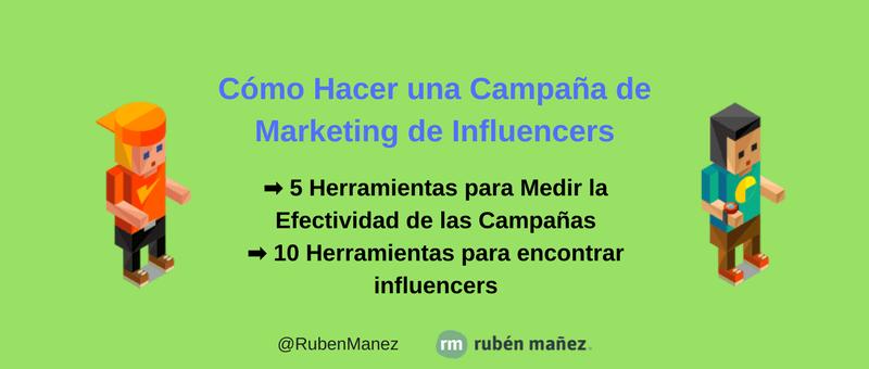 campana marketing de influencers