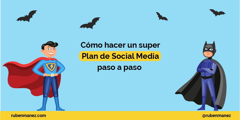 como hacer social media plan