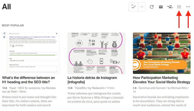 como usar feedly