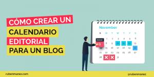 Plantilla Calendario Editorial Blog