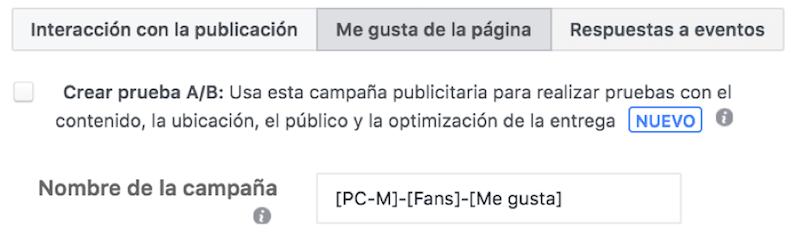 nombra campana facebook
