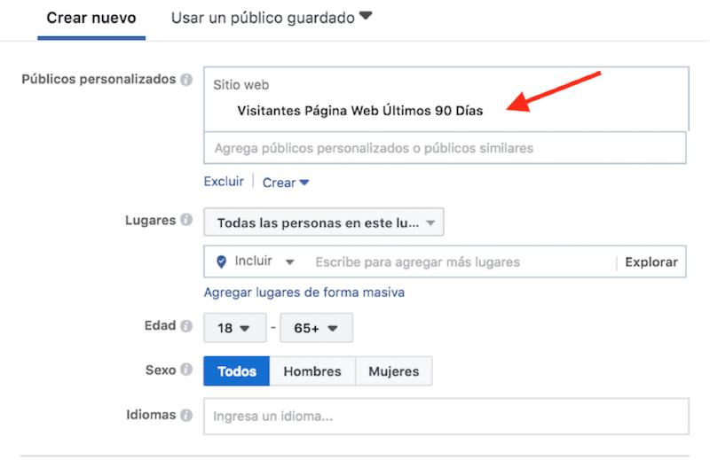 segmentar facebook