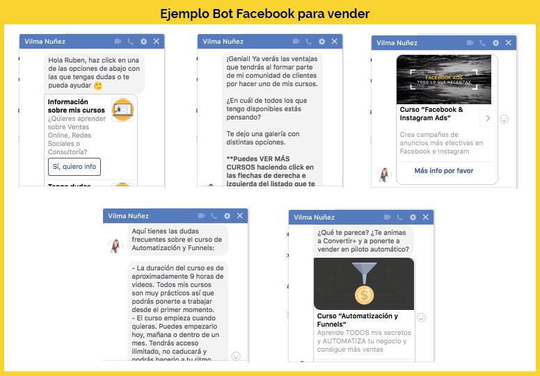 ejemplo de bot en facebook