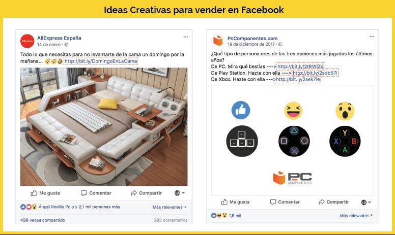 promocionar producto facebook