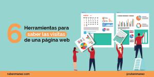 Herramientas para saber las visitas de una web