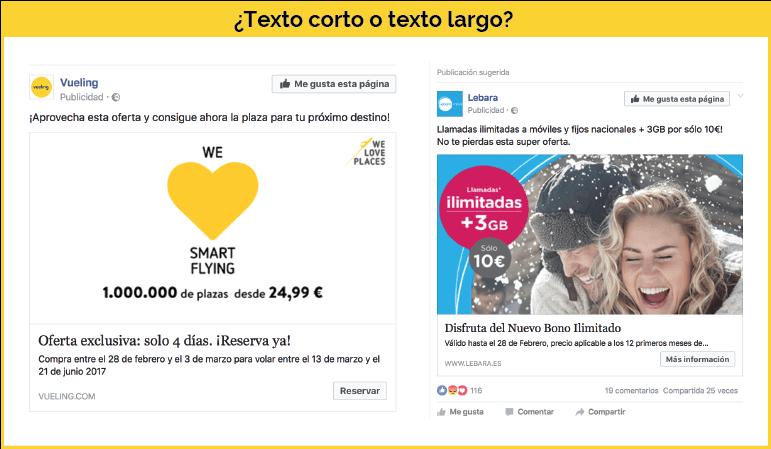 Extensión anuncios Facebook