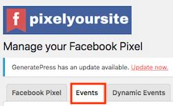 medir eventos en facebook