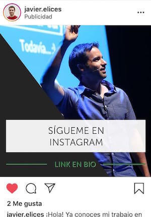 Anuncio Remarketing Instagram