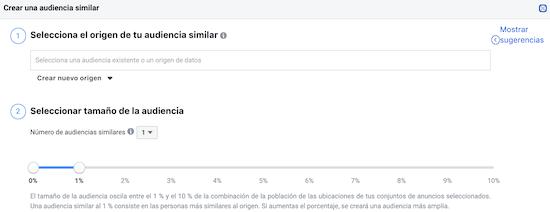 Públicos Similares Facebook