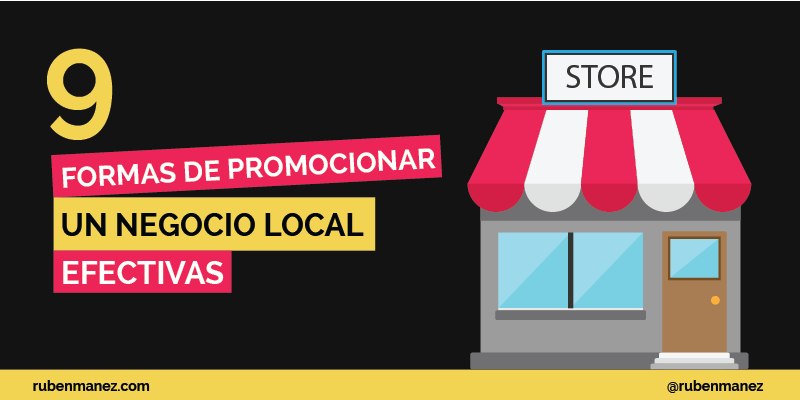 como promocionar un negocio local