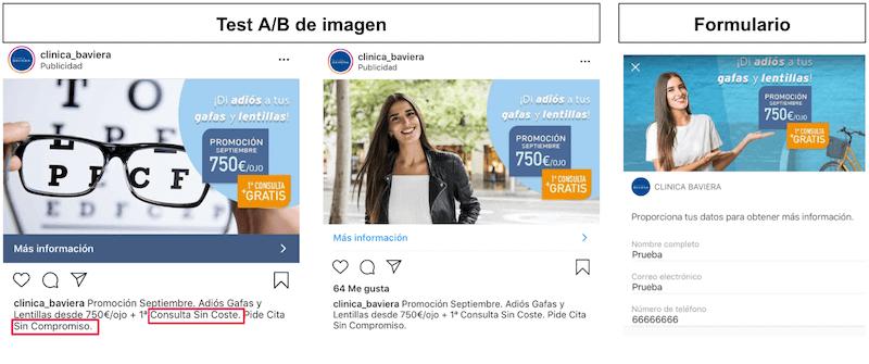 Ejemplo Anuncio Facebook Lead Ads