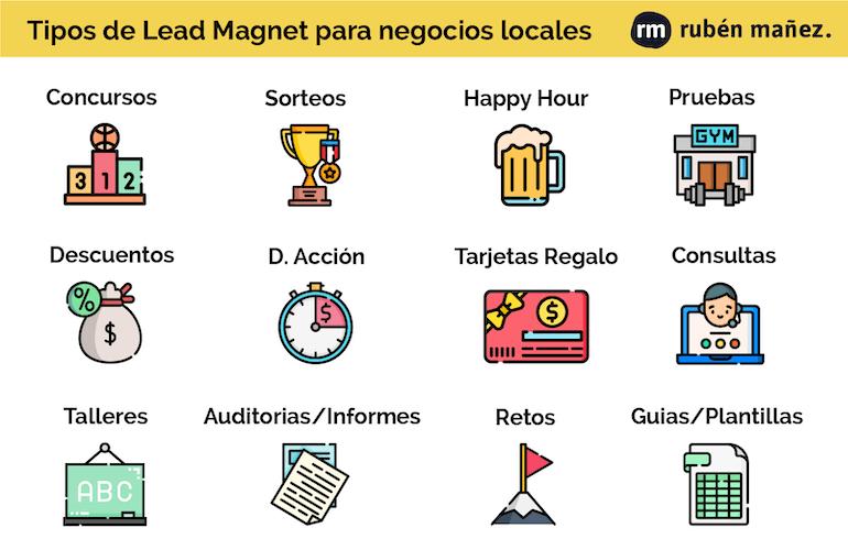 Ejemplos Lead Magnet Empresas